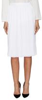 Givenchy Pleated Knee Length Skirt