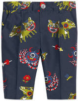 Gucci Baby monsters jacquard taffeta pant