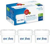 Aqua Optima Evolve 3 month pack, 3 x 30 day water filters - Fit *BRITA Maxtra (not *Maxtra+) appliances - EVS301