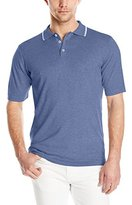 Agave Men's Chelan Short Sleeve Tipped Polo Shirt