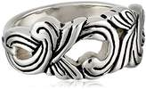 "Barse Silhouette"" Sterling Ornate Ring"