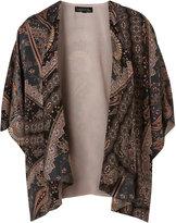 Topshop Tall Paisley Print Kimono