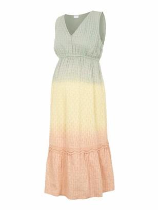 Mama Licious Mamalicious Women's Mlemilia S/l Woven Midi Dress