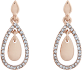 Accessorize Diamante Drop Earrings