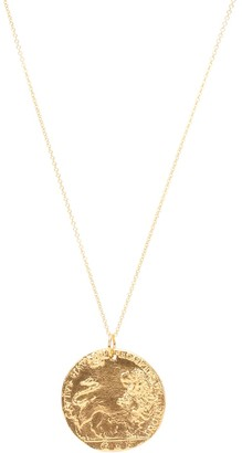 Alighieri Il Leone 24kt gold-plated necklace