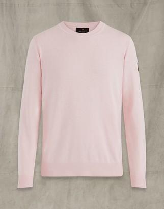 Belstaff MOSS CREW NECK Pink
