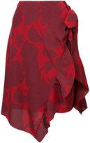 Derek Lam 10 Crosby flower print skirt