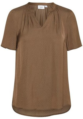 Saint Tropez Brown Blouse - XS