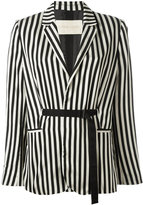 Christian Wijnants striped blazer - women - Nylon/Polyester/Acetate - 36