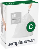 Williams-Sonoma Williams Sonoma simplehumanTM; (C) Custom Fit Trash Can Liners, 60pk