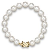 Bloomingdale's Cultured Freshwater Pearl Small Bracelet in 14K Yellow Gold, 8mm