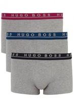 Boss Stretch Cotton Boxer Briefs - Set Of Three
