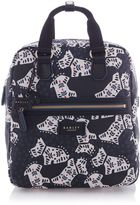 Radley Folk dog medium zip backpack