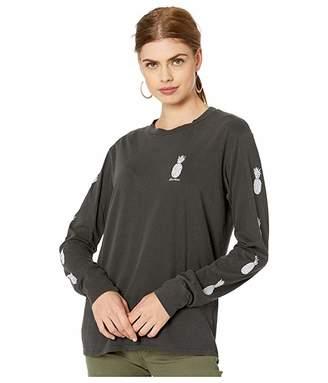 Billabong Hello Aloha T-Shirt (Off-Black) Women's Clothing