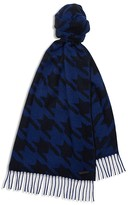 Ted Baker Cashmere Dogtooth Scarf