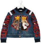 Dolce & Gabbana appliquéd denim jacket