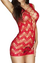 Joyi Women Enticing Sexy Mesh Lingerie for Sexy Party Making Love Chemise