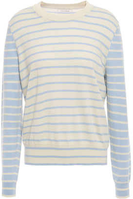Chinti and Parker Striped Cotton Sweater
