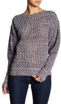 John & Jenn Pointelle Stitch Blouson Sleeve Sweater
