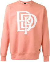 Bleu De Paname - logo print sweatshirt - men - Cotton - S