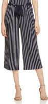 Aqua Striped Culotte Pants - 100% Exclusive
