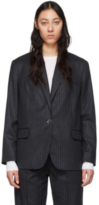 Isabel Marant Grey Wool Melinda Blazer