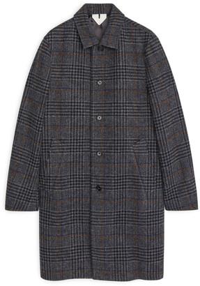 Arket Tweed Overcoat