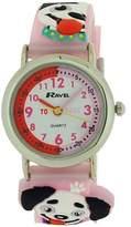Ravel Girls-Kids 3D My Puppy Dog Time Teacher Dial Watch R1513.64