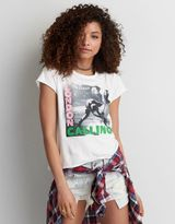 American Eagle Outfitters AE The Clash Band T-Shirt