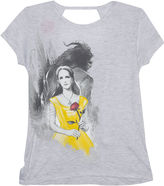 Disney Short Sleeve Beauty and the Beast T-Shirt-Big Kid Girls