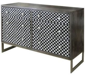 Brayden Studio Cuyuna 6 Drawer Double Dresser