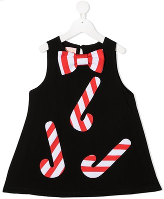 Wauw Capow By Bangbang Xmas Sweets mini dress