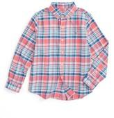 Vineyard Vines Toddler Boy's Middleton Plaid Flannel Shirt
