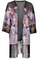 Rock and Rags Fringe Kimono