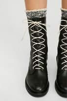 Gee WaWa Steel Lace-Up Boot