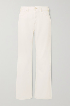 Gold Sign + Net Sustain The Nineties High-rise Bootcut Jeans - White
