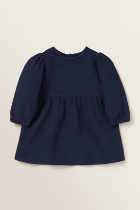 Seed Heritage Puff Sleeve Jersey Dress