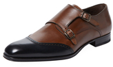 Mezlan Leather Double Monkstrap