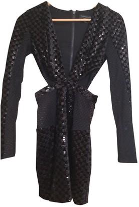Michael Costello Black Cotton Dresses