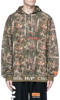 Heron Preston Camouflage forest print hoodie