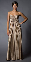 Champagne Strapless Gowns from Laundry by Shelli Segal