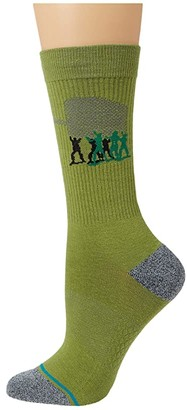 Stance Army Men (Green) Crew Cut Socks Shoes