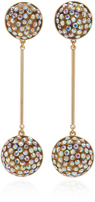 Lulu Frost Dream Gold-Plated And Crystal Earrings
