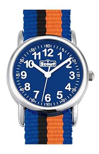 Scout 280304005 Boys' Watch Analogue Quartz Textile
