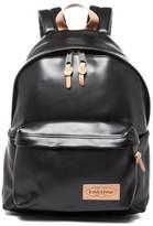 Eastpak Padded Pak'r Leather Backpack Black