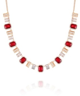 T Tahari Holiday Sparkle Statement Necklace