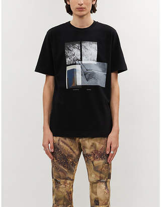 Alyx Graphic-print cotton-jersey T-shirt