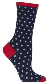 Hot Sox Holiday Polka Dot Socks