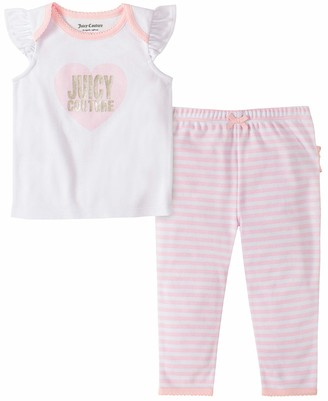 Juicy Couture Girls' 80I80031-99 Pants Set