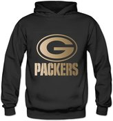 Louisrue Hoodie Women's Green Bay Packers Championship Drive Gold Collection Performance Hoodie S